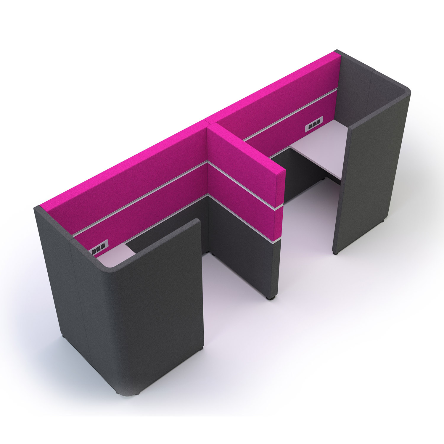 Cubbi Privacy Booth Two Seater