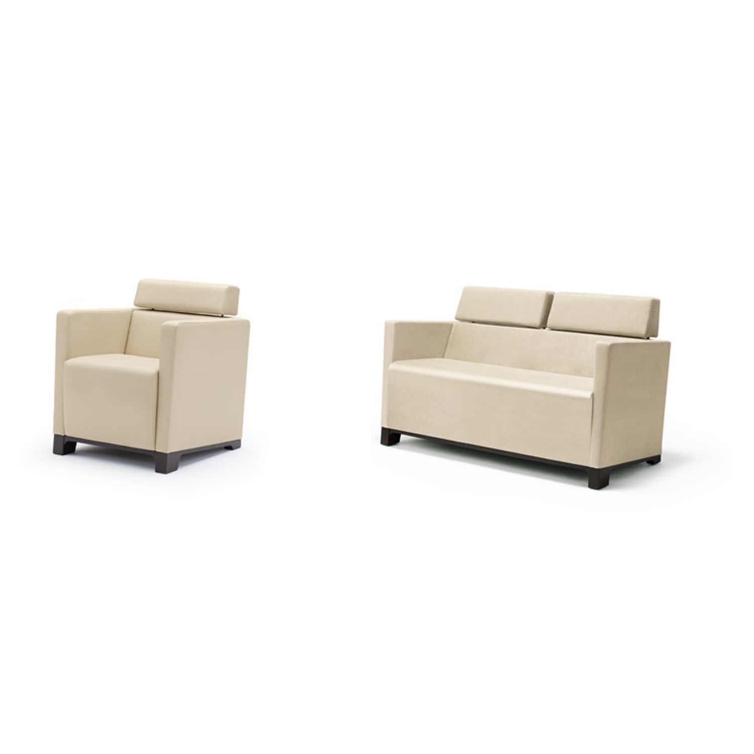Grace Cube Lounge Chairs by Wiesner Hager