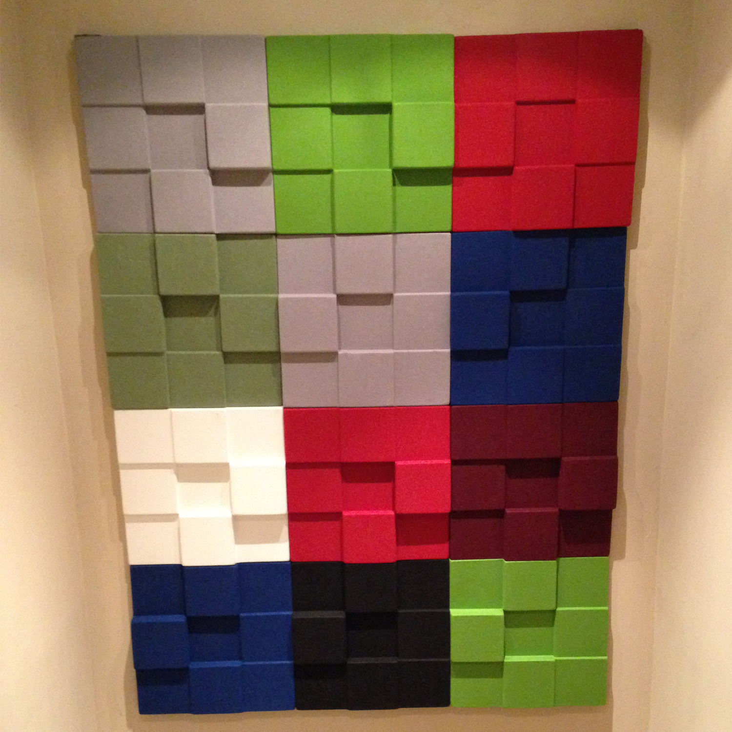 Cubism Wall Panels by Soundtect