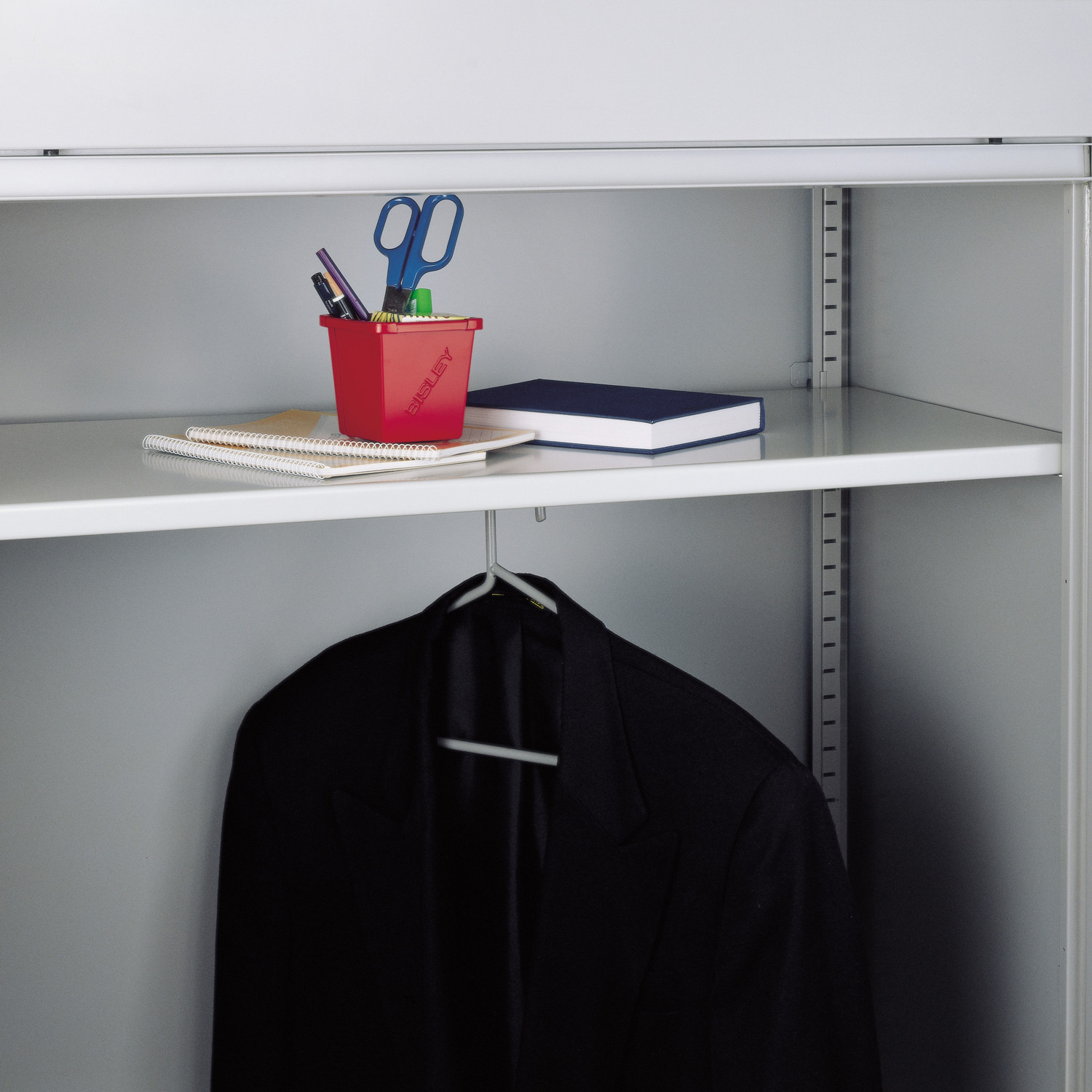Cupboard Wardrobe Shelf With Hanger