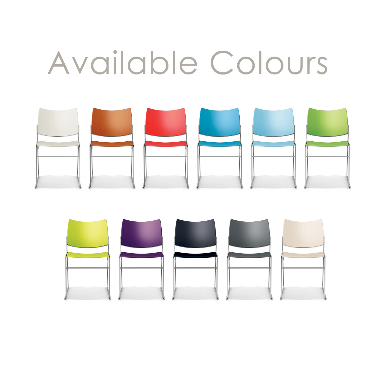 Curvy Chair Colours