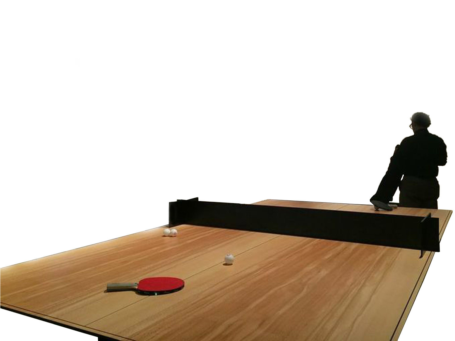 Dan Ping Pong Wooden Meeting Table