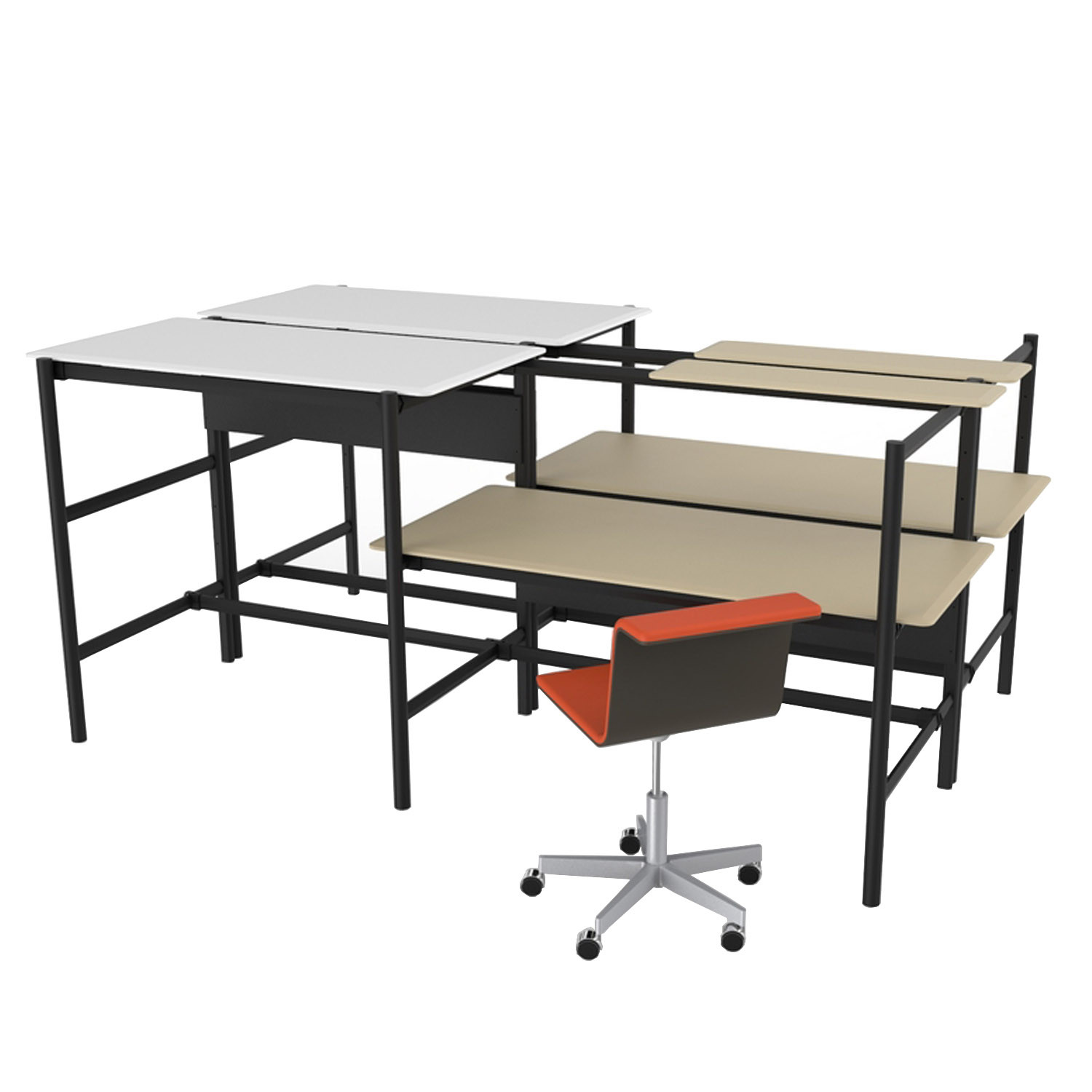 Dan Modular Bench Desks