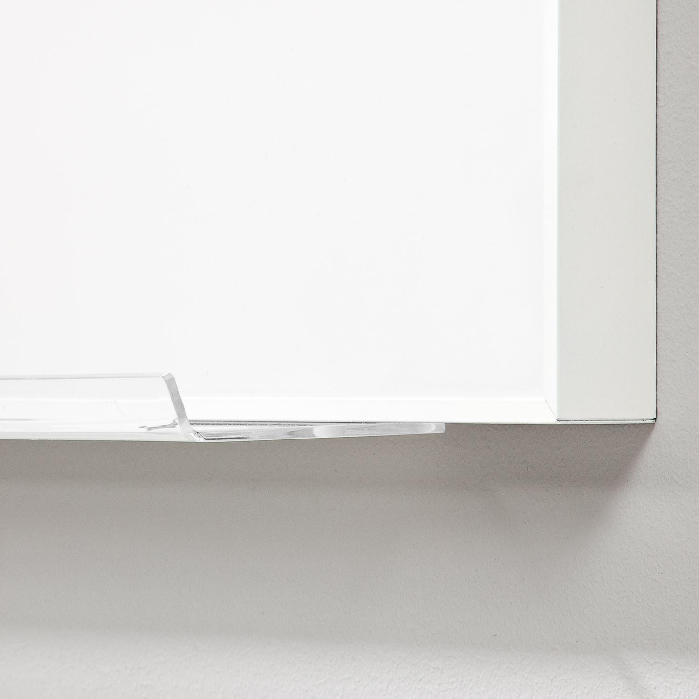 Deep Whiteboard with Plexiglass Shelf