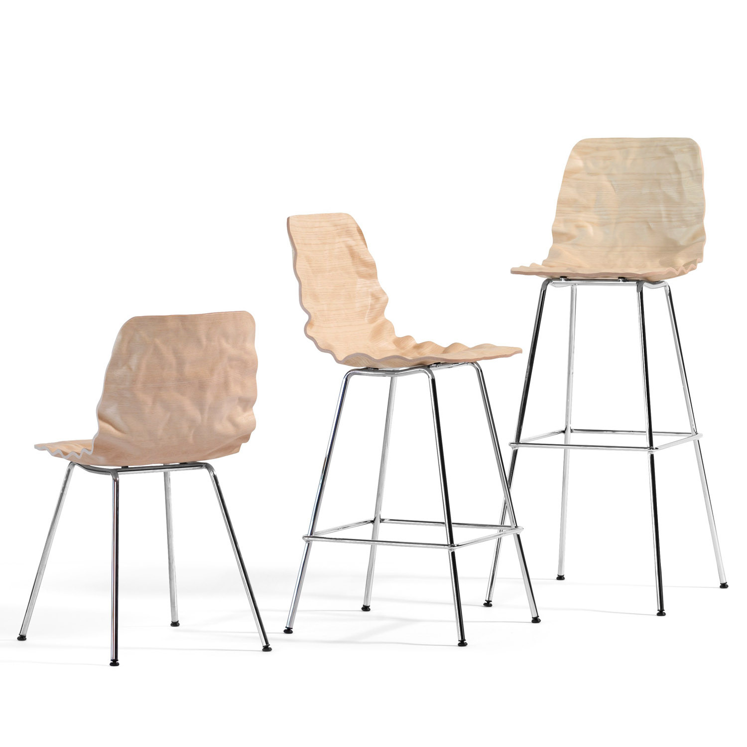Bla Station Dent Chair and Bar Stools