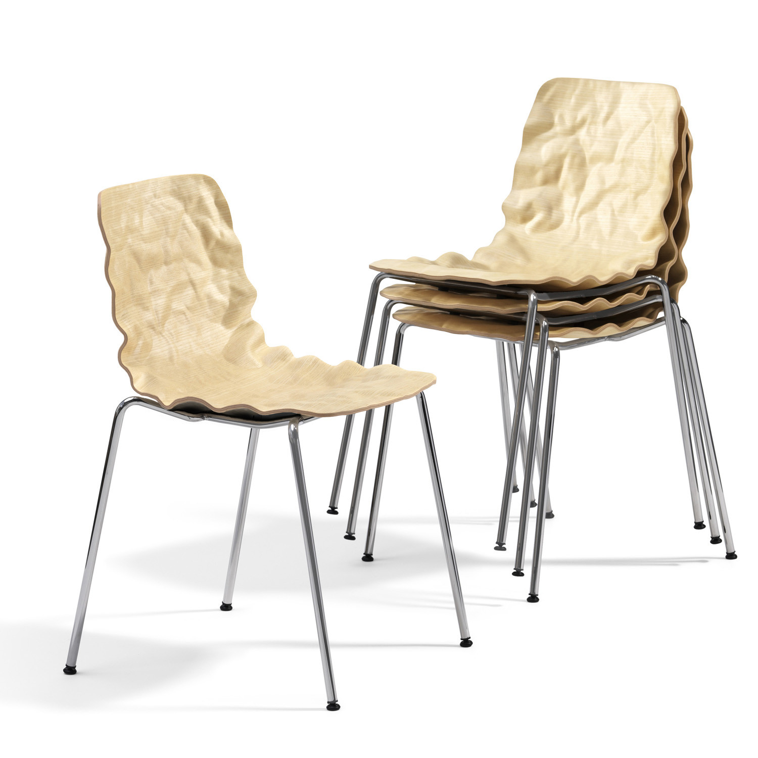 Dent Stack Dining Chair B501