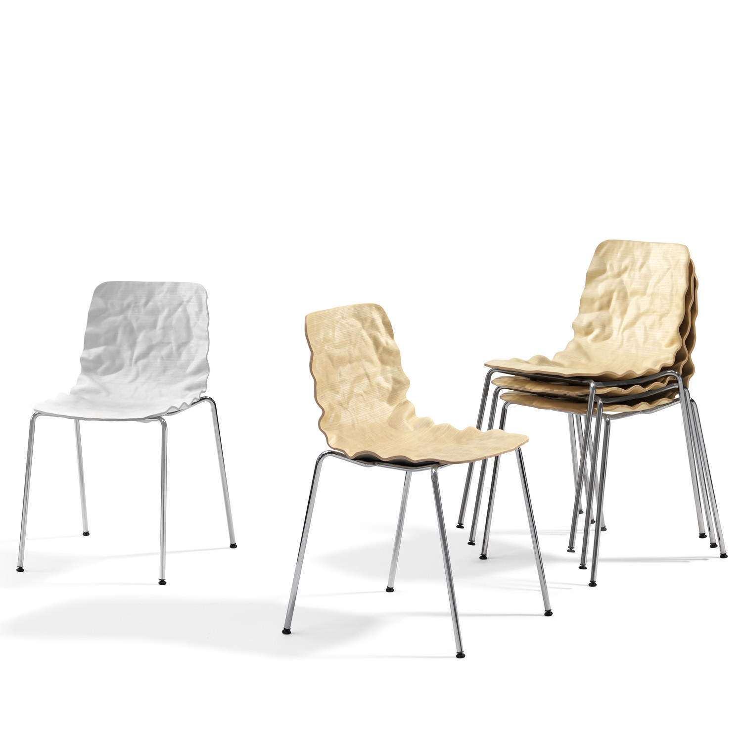 Dent Stack Cafe Chairs