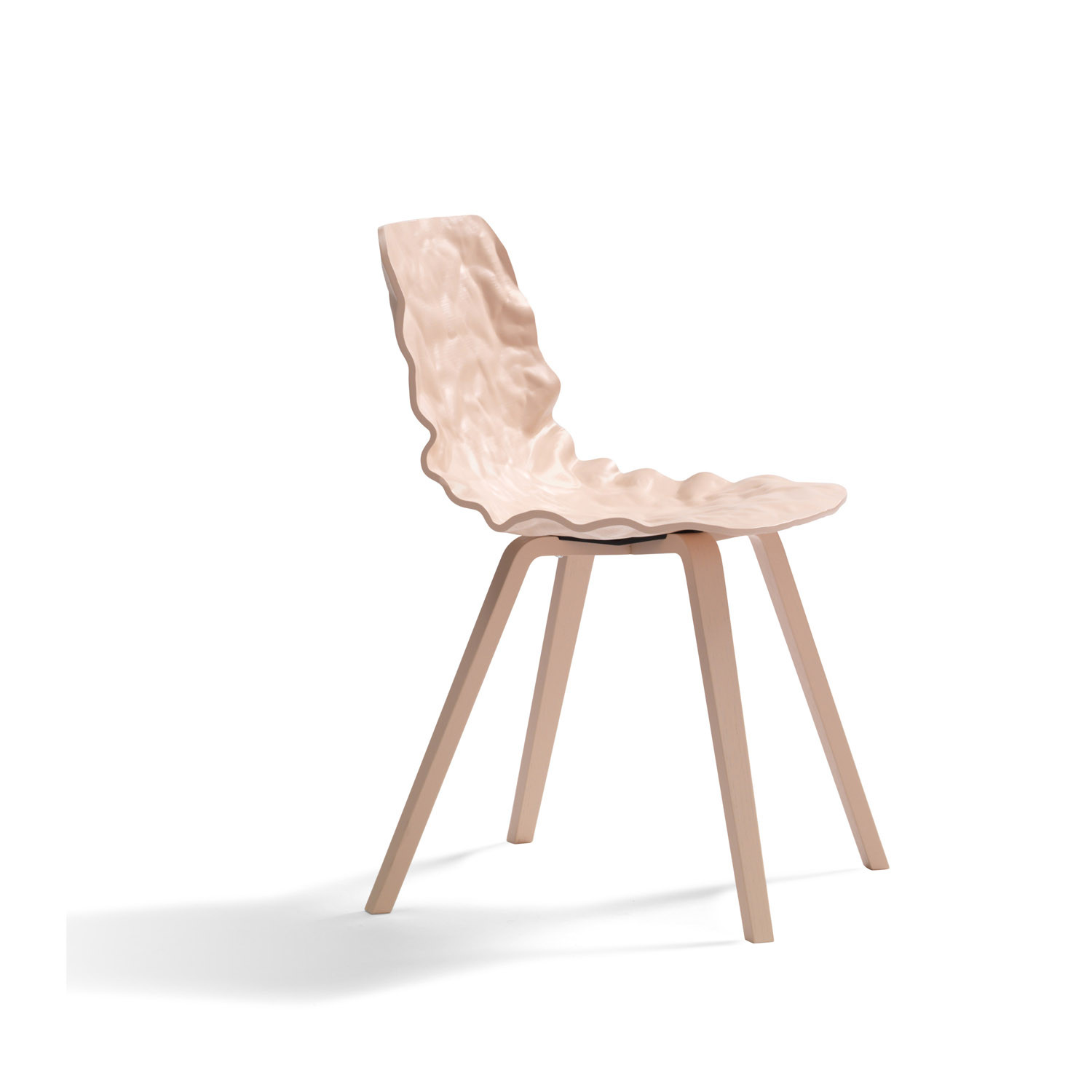 Dent Wooden Chair