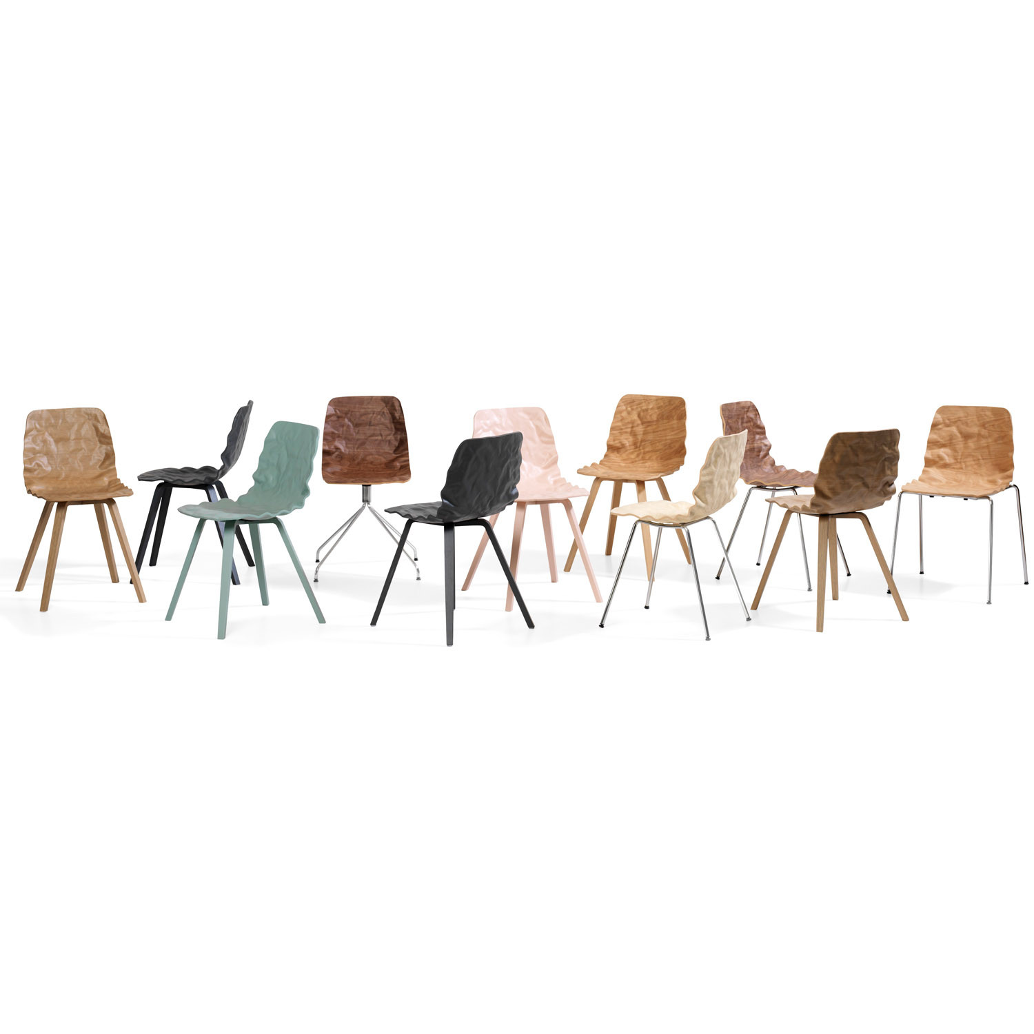 Dent Wood Chairs B504 by Bla Station