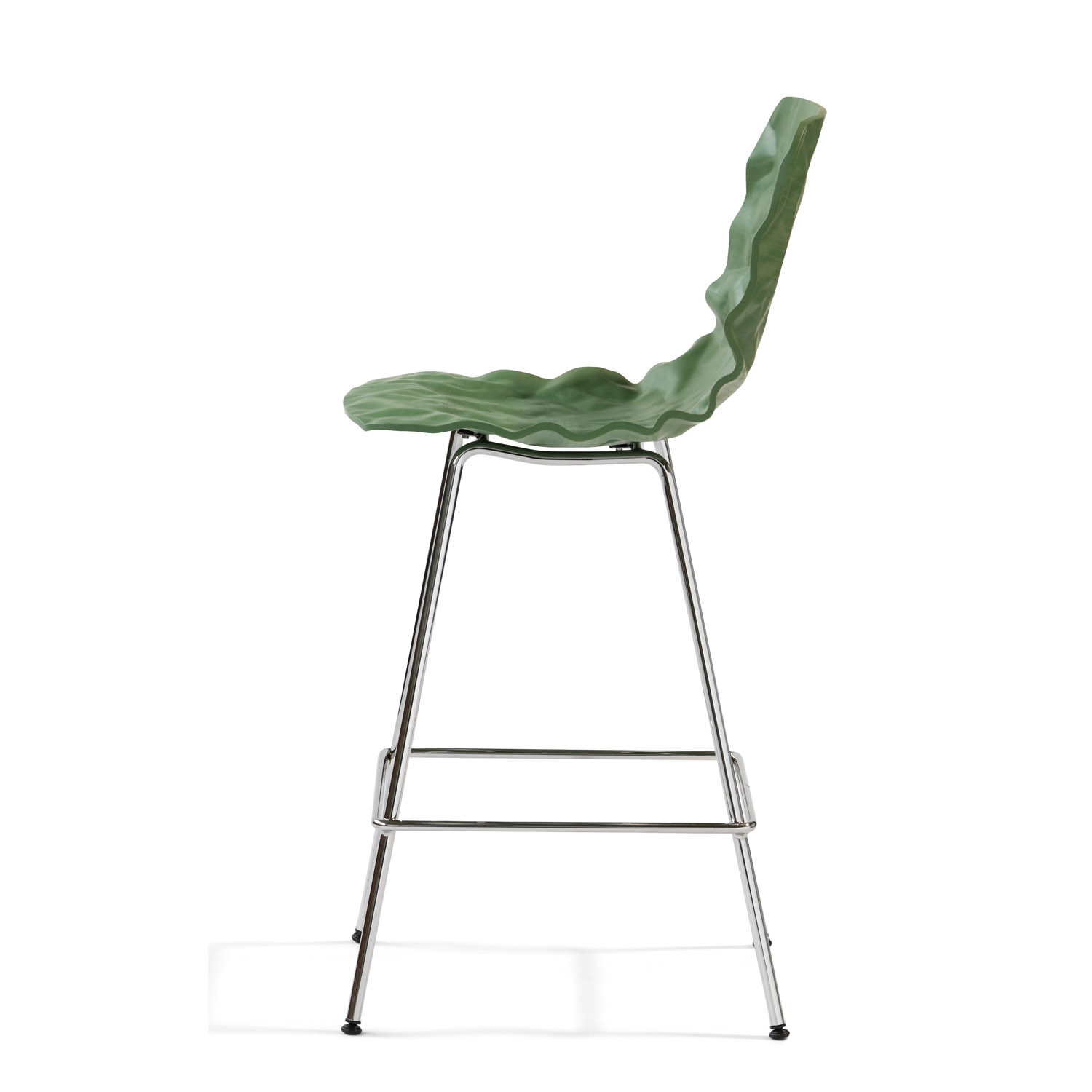 B502-65 Dent Bar Stool Side View