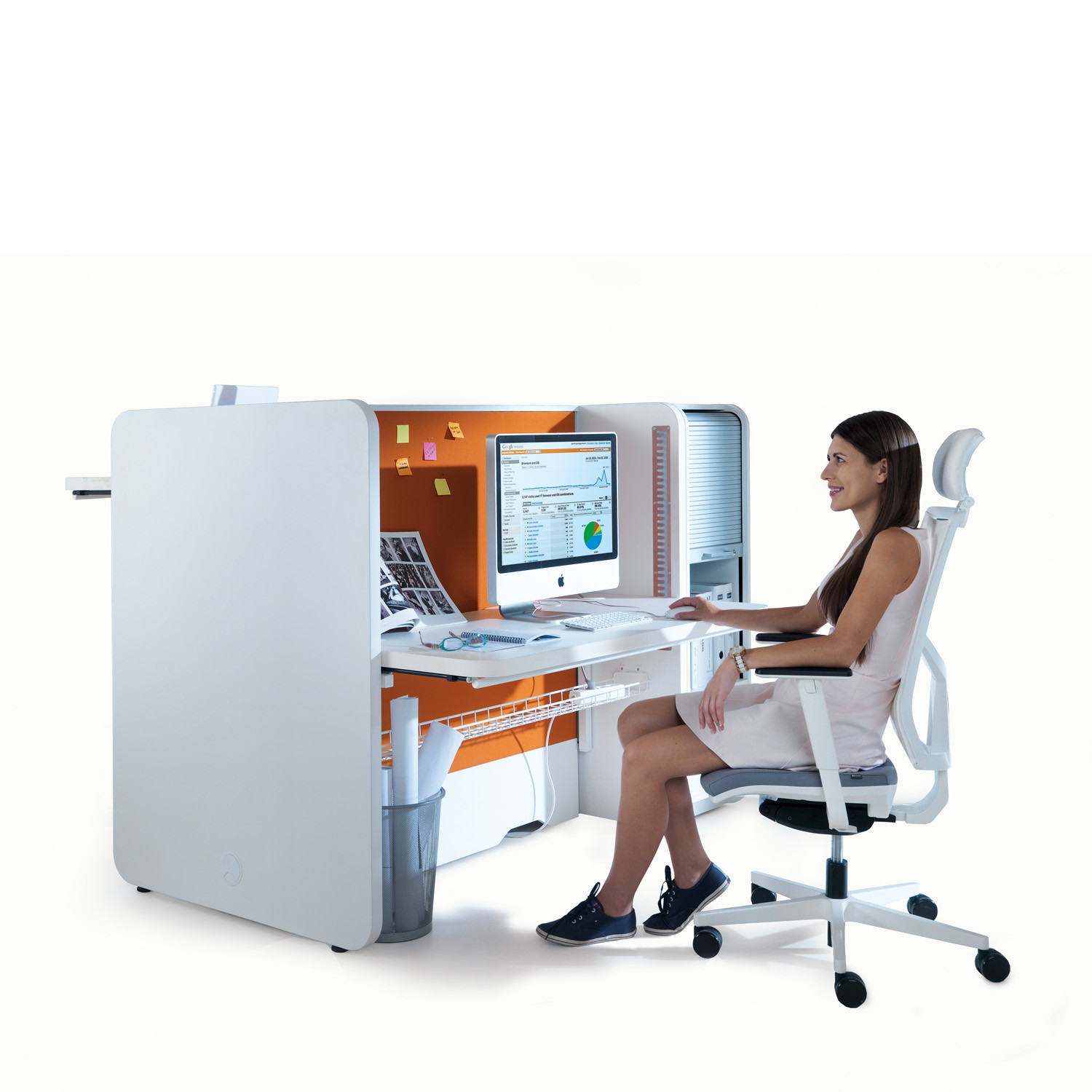 Stand Up Bench Desk System