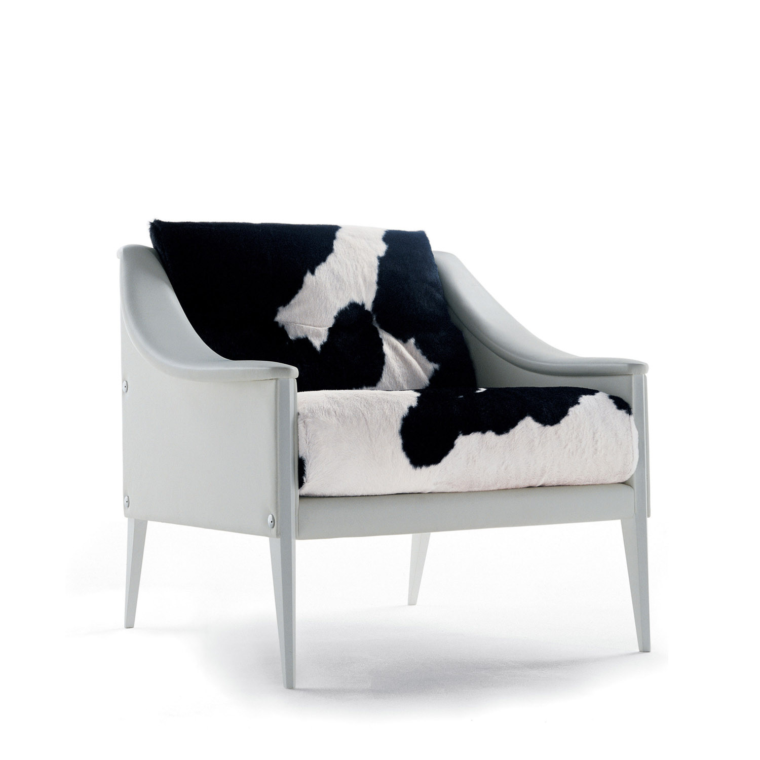 Dezza Armchair in Pony Skin