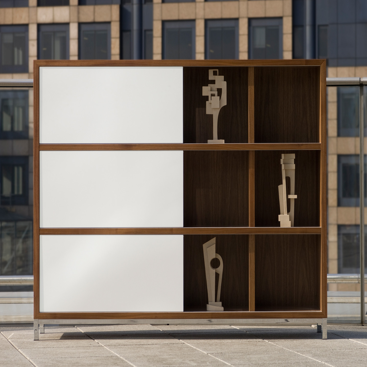 Crome Executive Office Bookcase