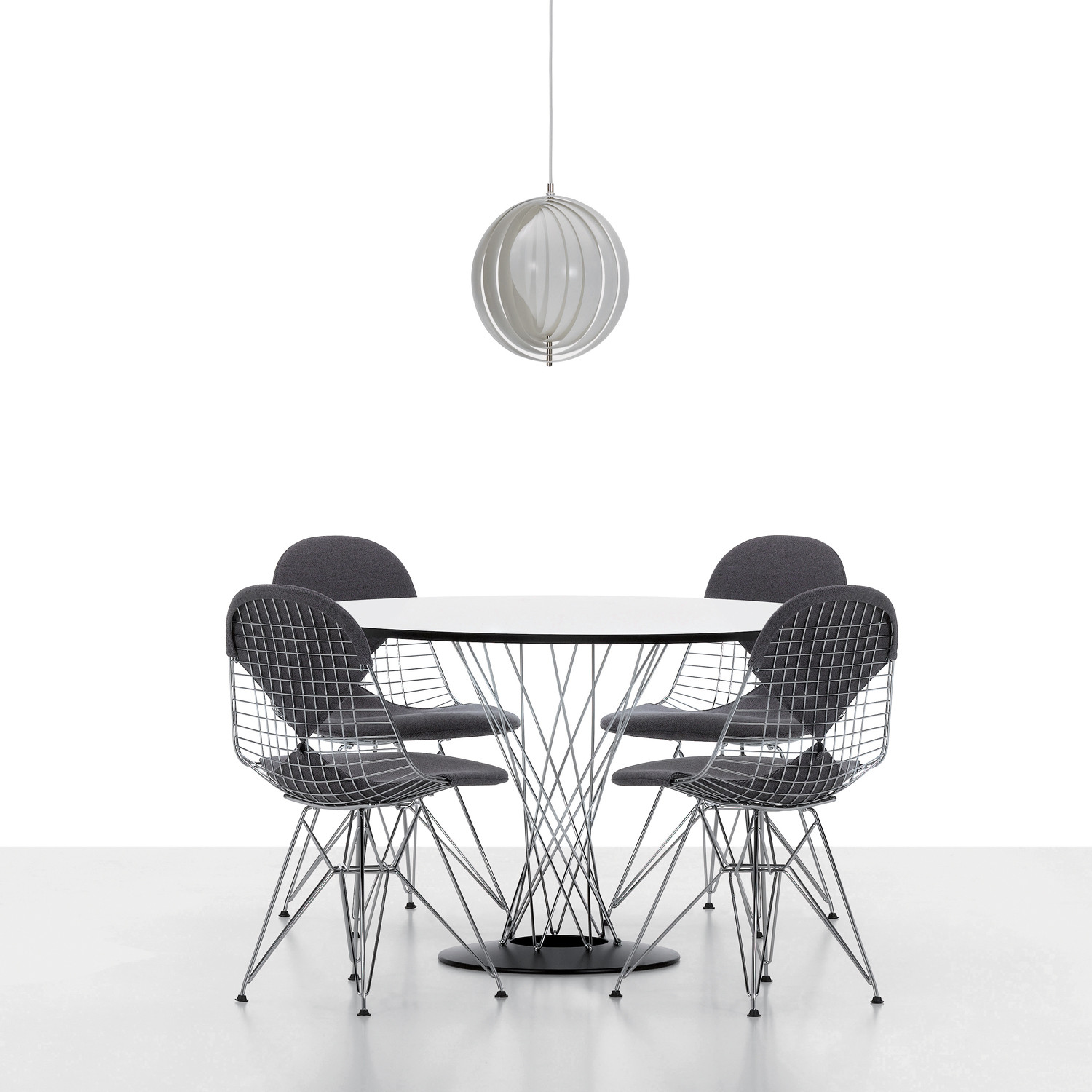 Vitra Wire Chairs DKR