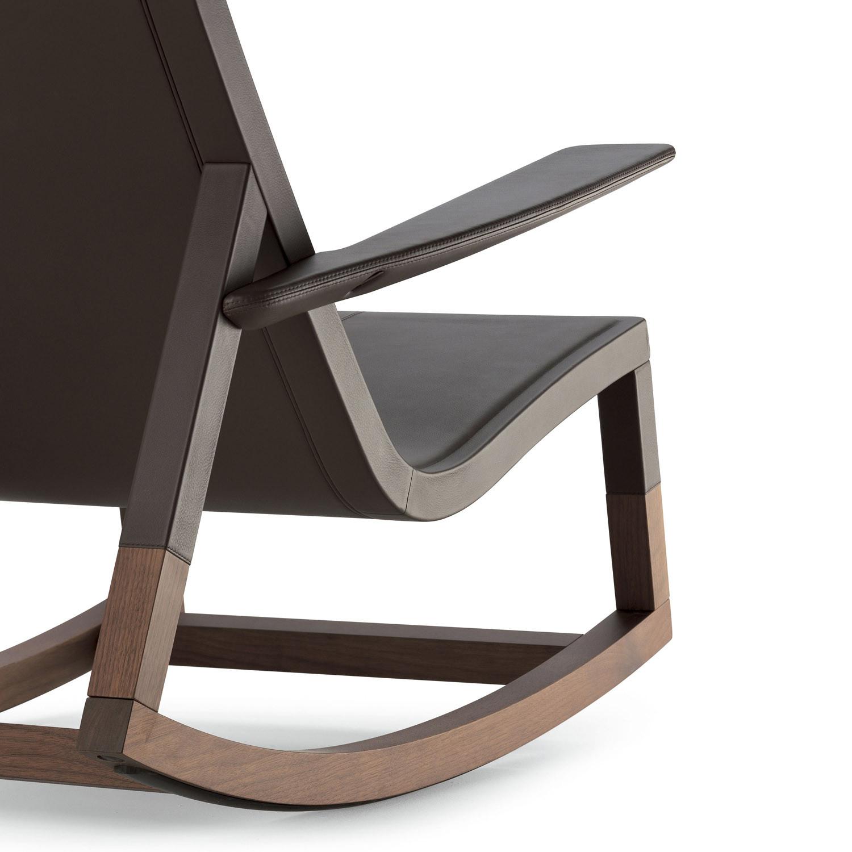 Don'do Rocking Chair by Poltrona Frau