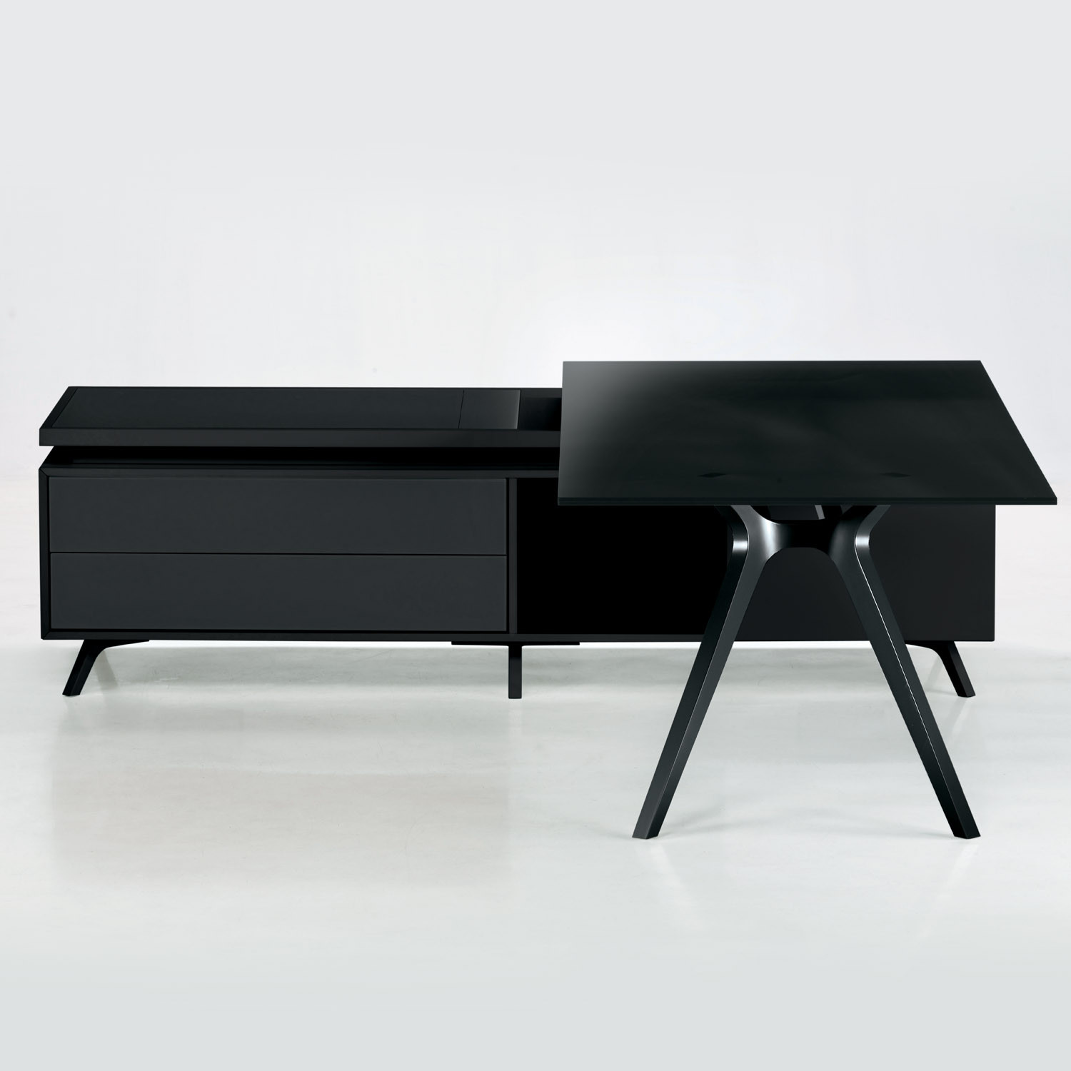 DR Executive Desk with supporting storage