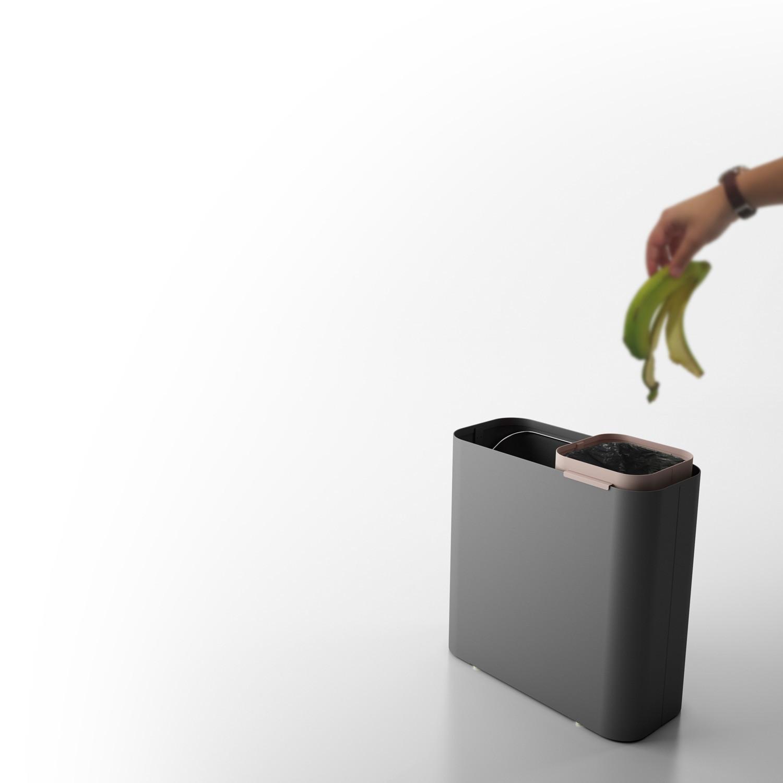 Drop Waste Bin
