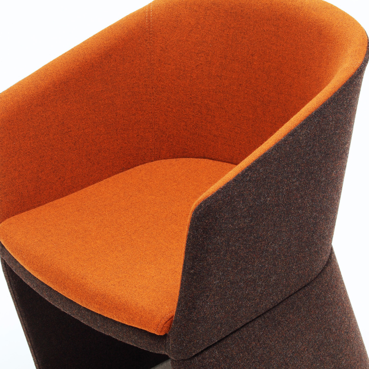 Drum Reception Armchair - seat detail