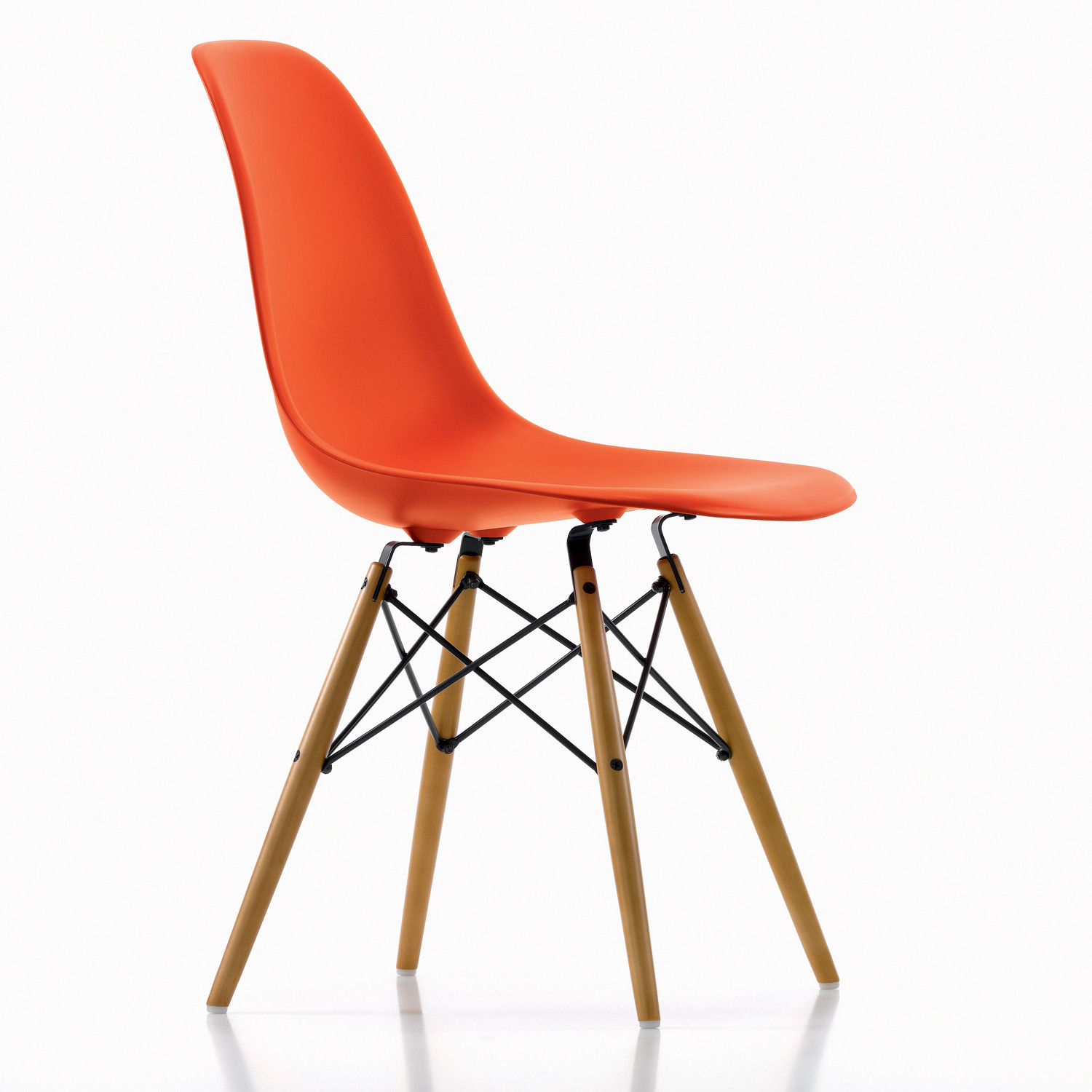 dsw eames plastic side chairs cafe breakout chairs. Black Bedroom Furniture Sets. Home Design Ideas