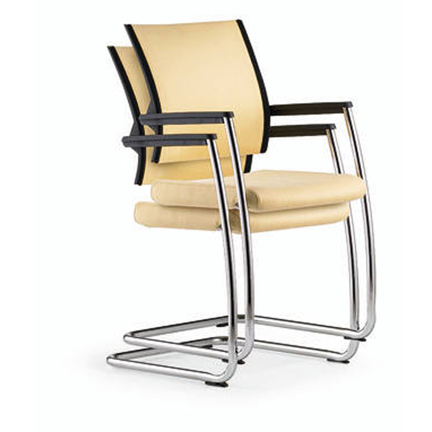 Duera Cantilever Stacking Chair