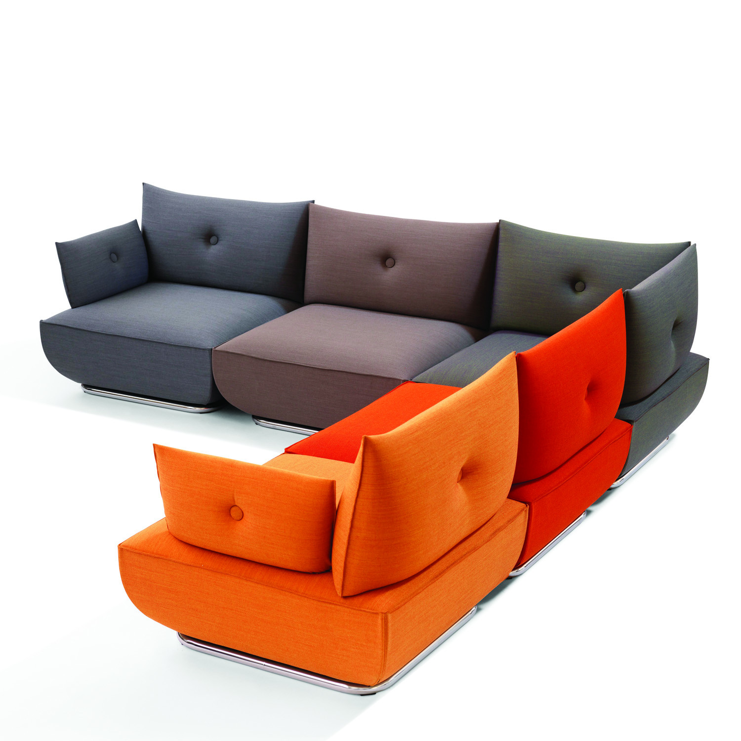 Modular Sofas Delux Deco UK Vitra Soft Sofa Mix