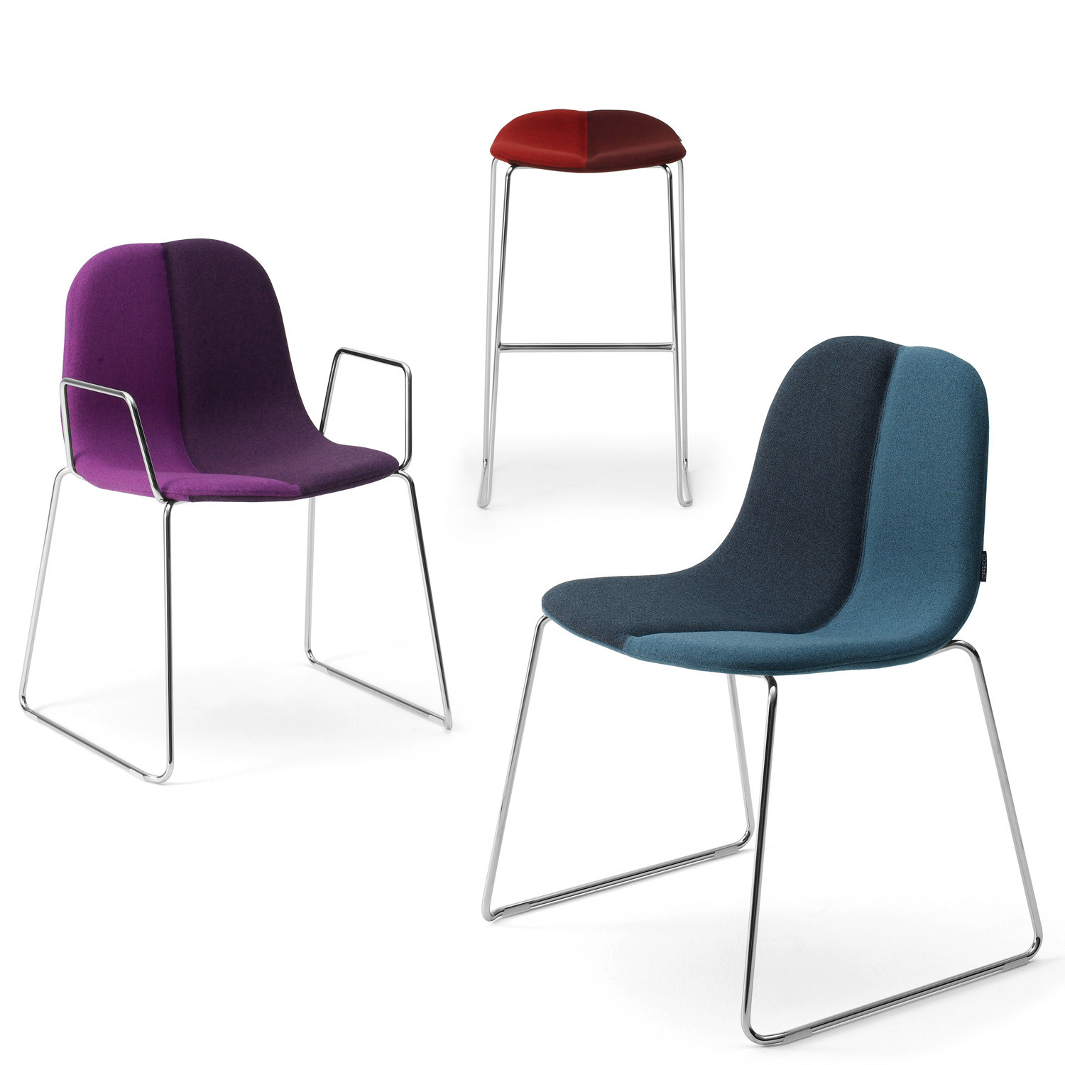 Duo Stools and Chairs by Offecct