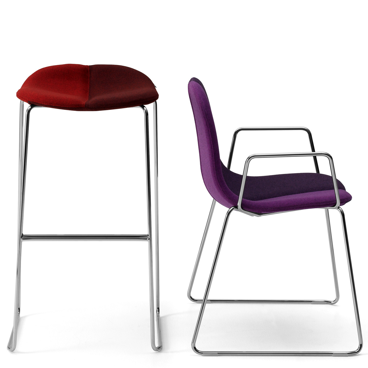 Duo Bar Stool and Duo Chair