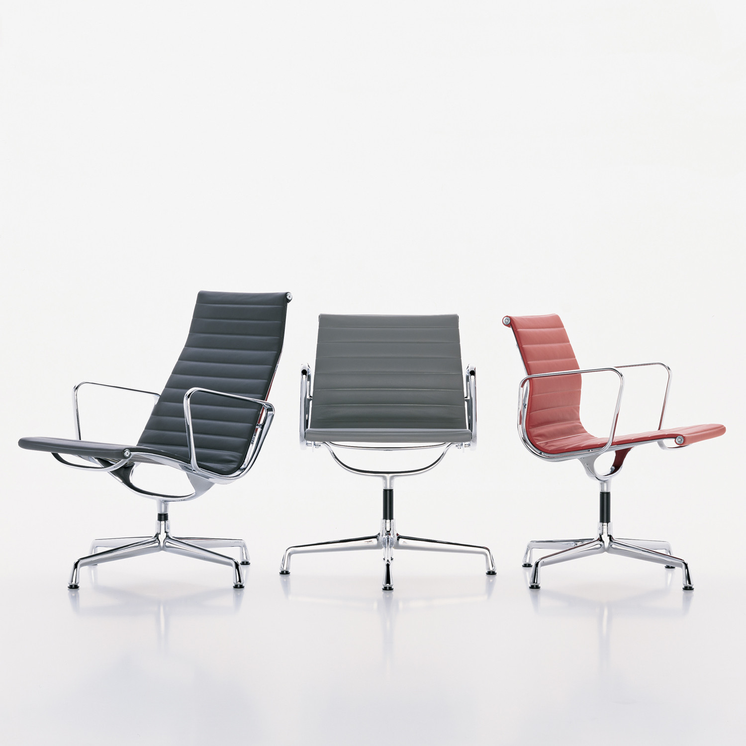 Vitra Eames Aluminium Group Chairs