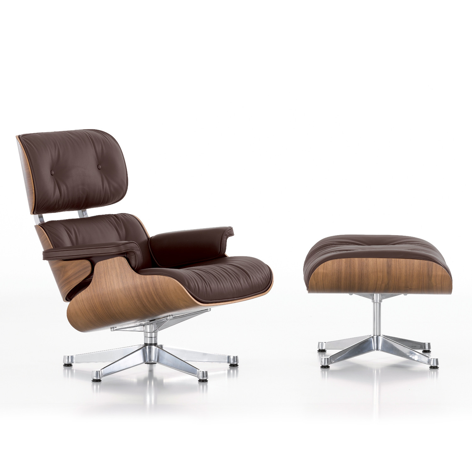 Eames lounge chair and ottoman vitra lounge chairs for Eames lounge chair nachbau