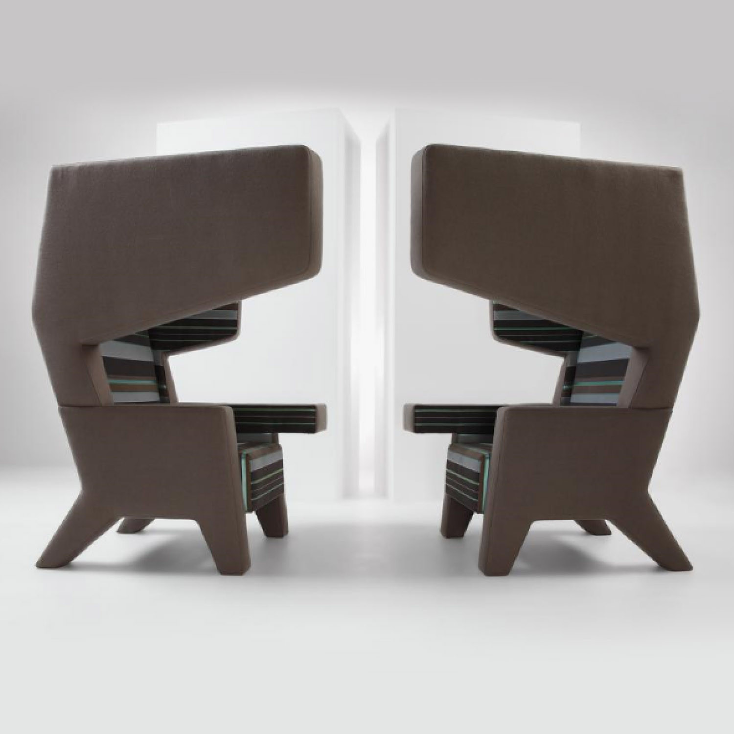 Acoustic High Back Earchair