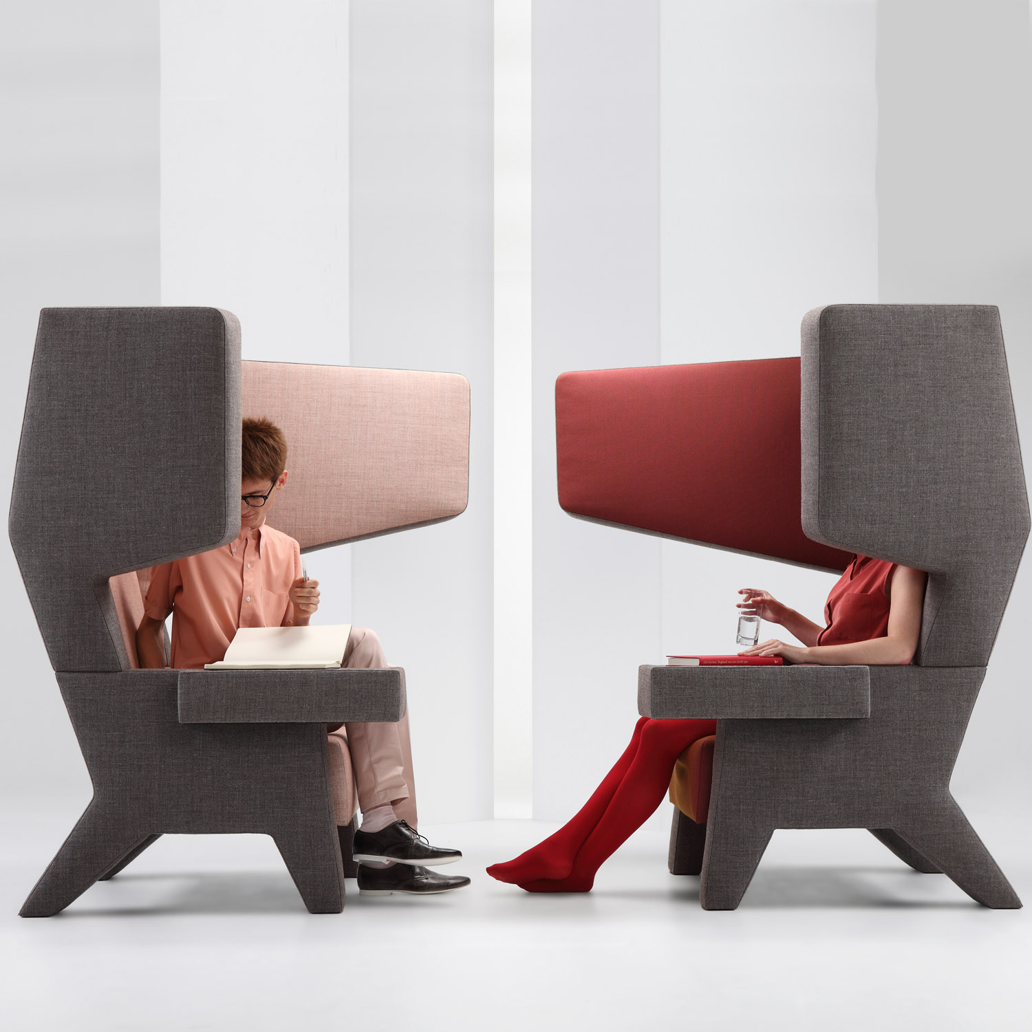 PROOFF EarChair Wing Back Chairs