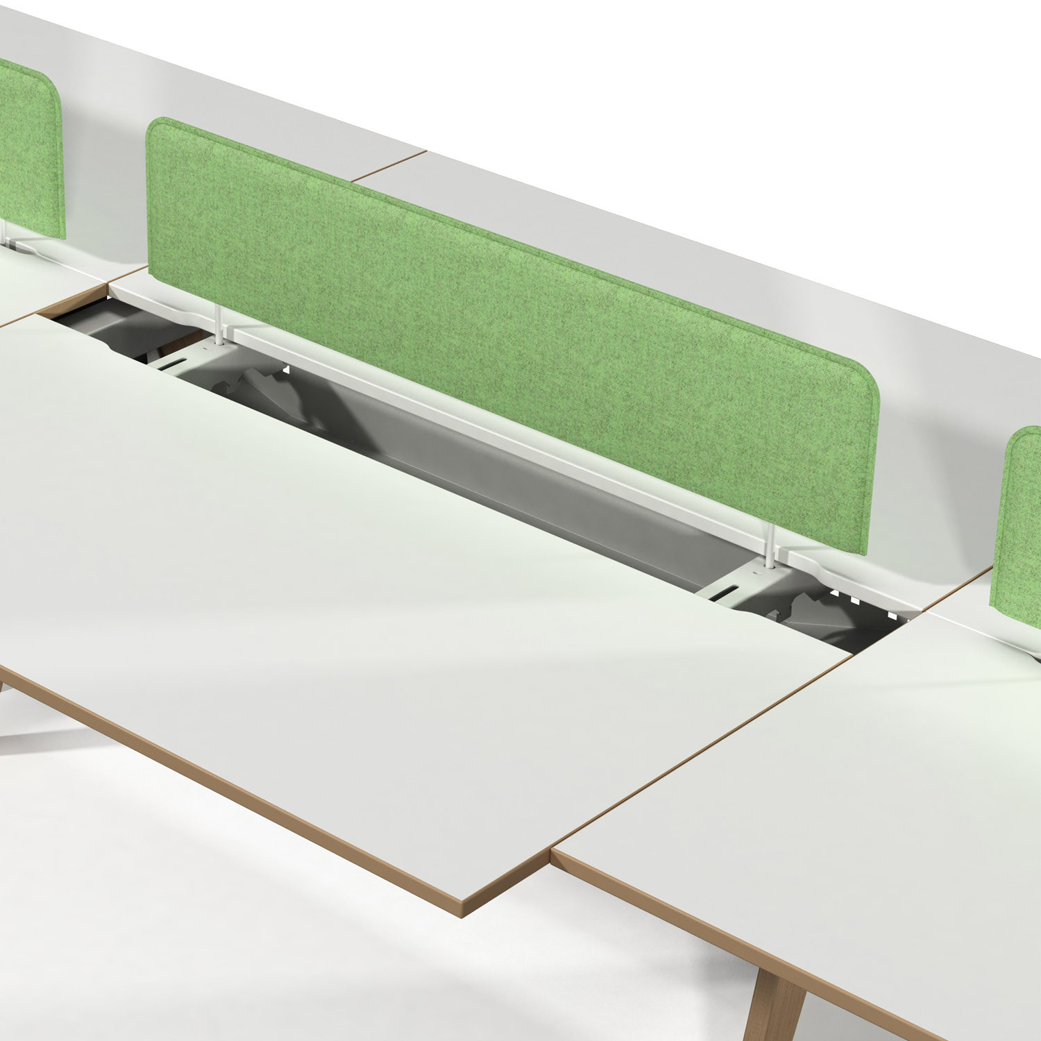 EC4 Bench Desks with Sliding Top