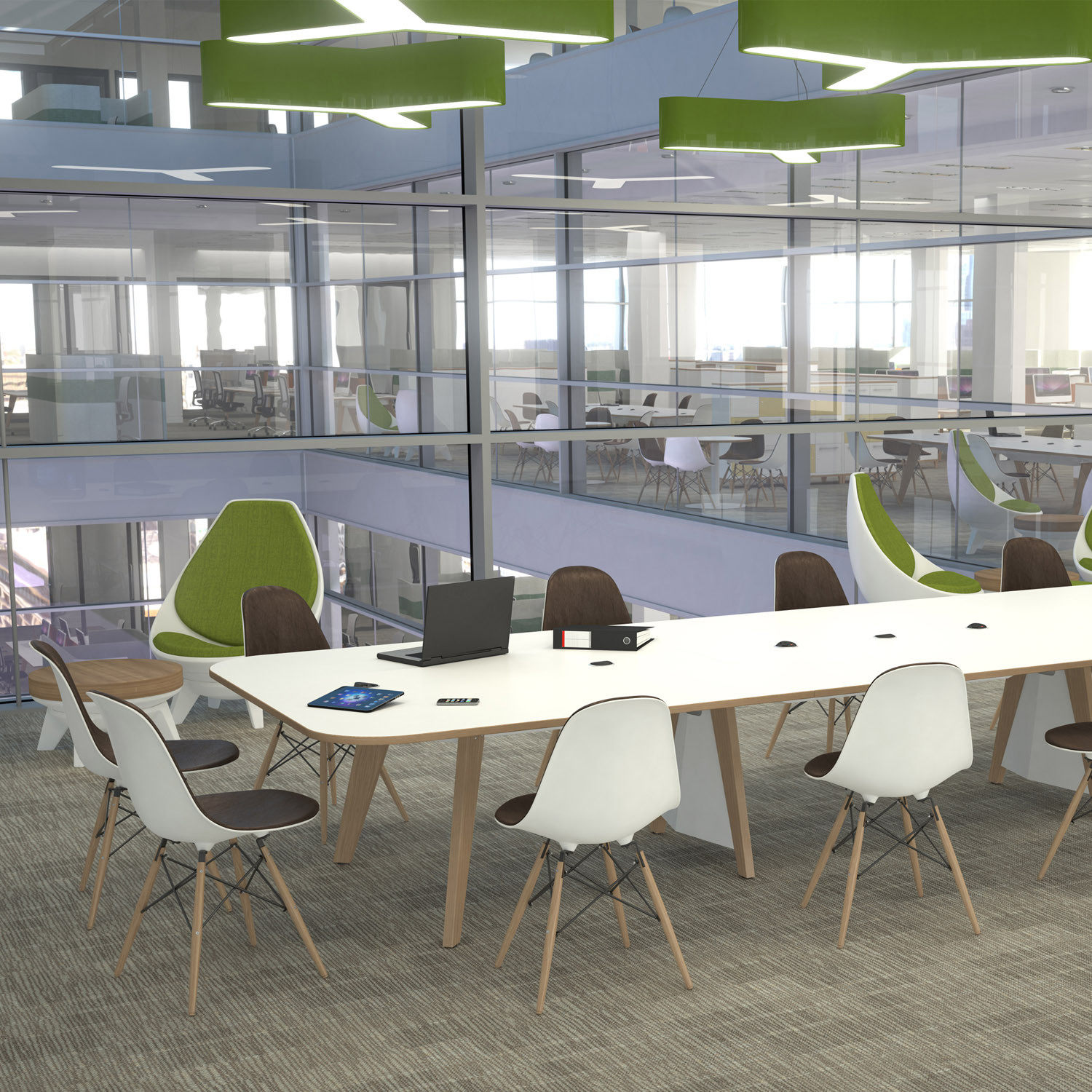 EC4 Meeting Tables and Touchdown Work