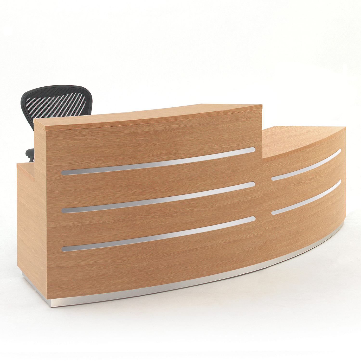 Bespoke Reception Desk - Evolution Eclypse