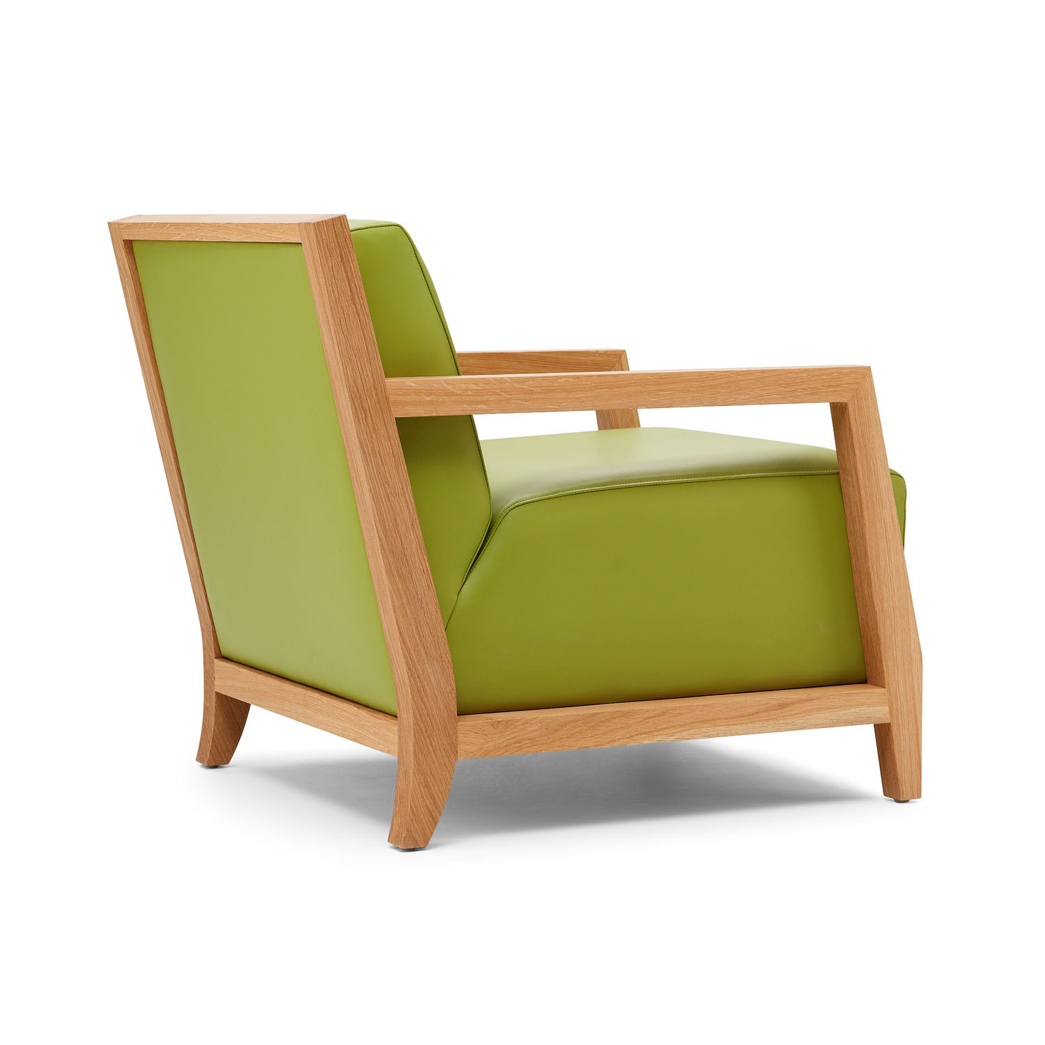 Edgar Lounge Armchair Side View