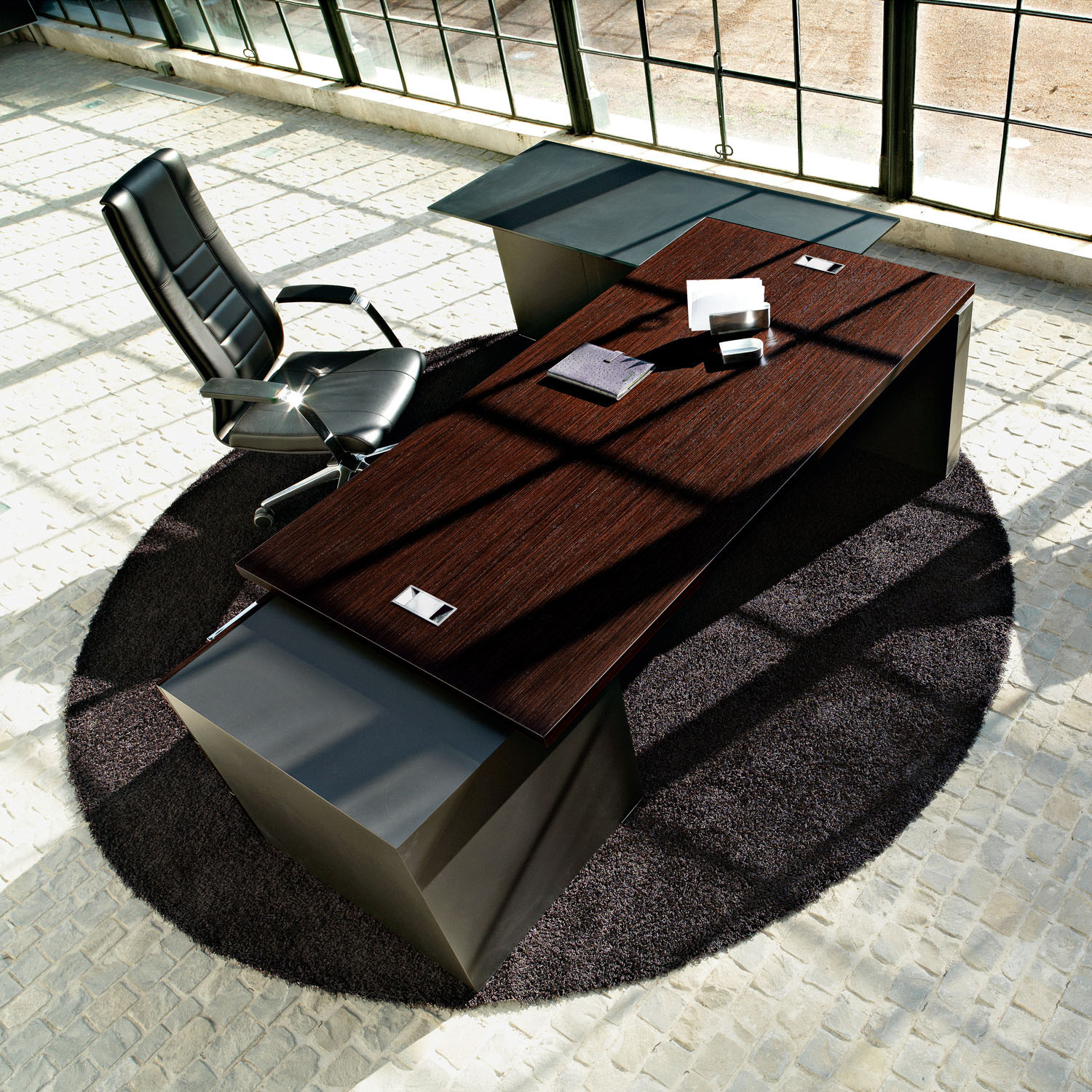 Ego Executive Office Desk with Storage