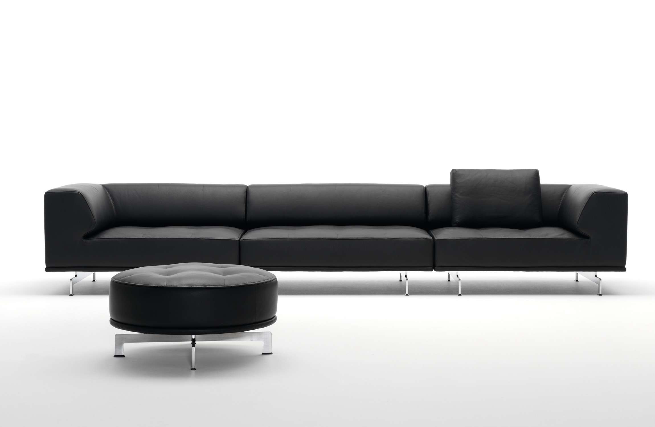 EJ 450 Delphi Sofa and Pouffe
