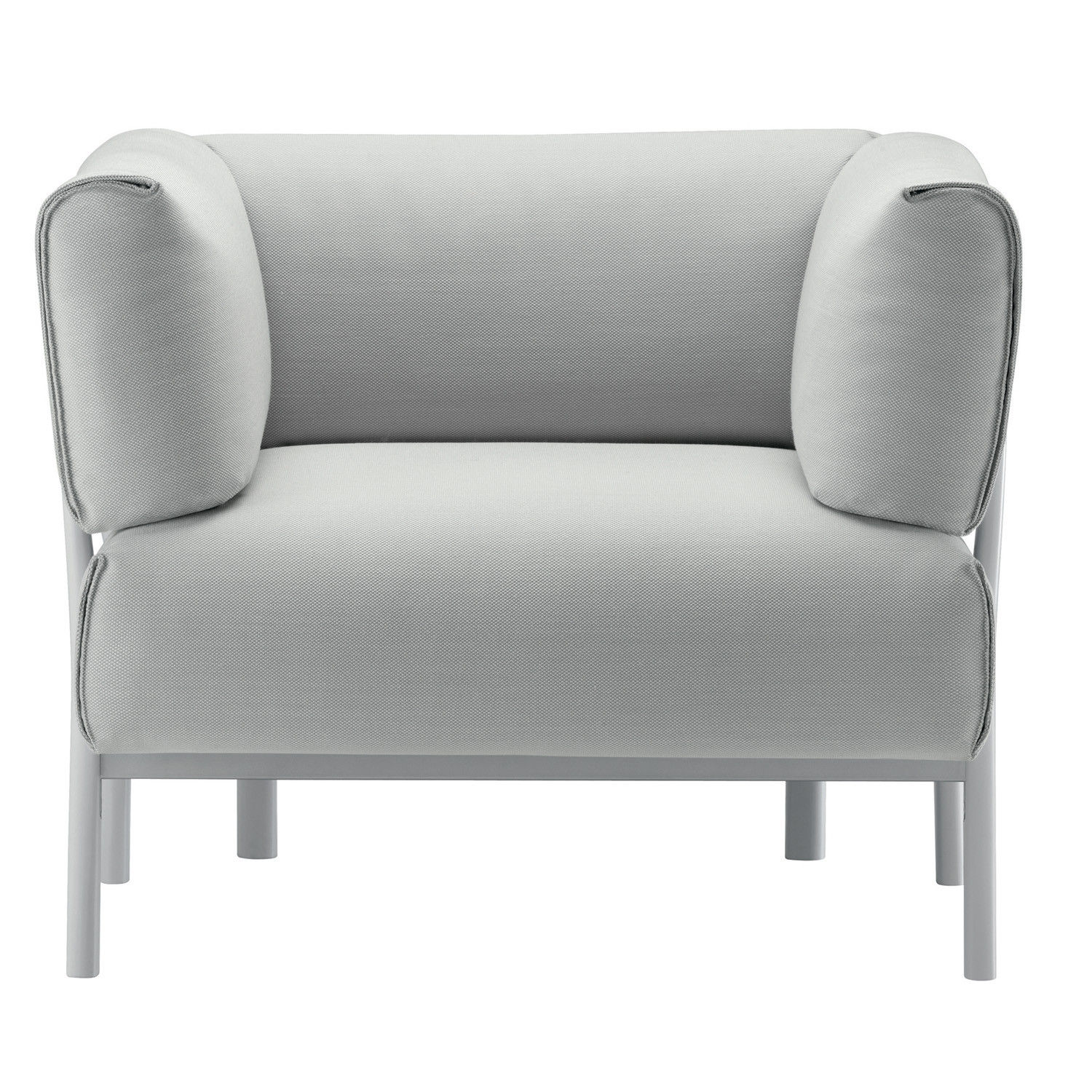 Eleven Armchair in fabric upholstery