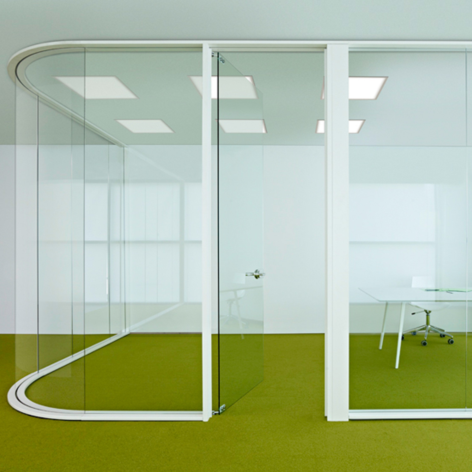 Elite Curved Partitioning