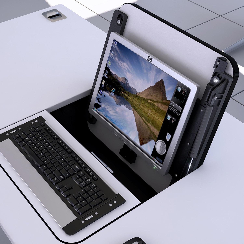 Elite Screen Box desk table top