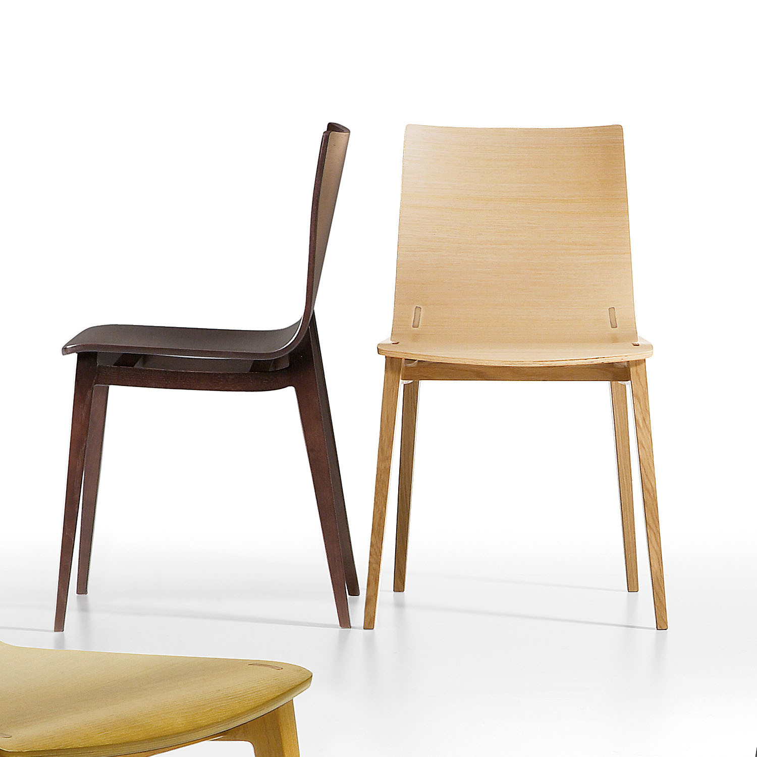 Emma Office Wooden Breakout Chairs