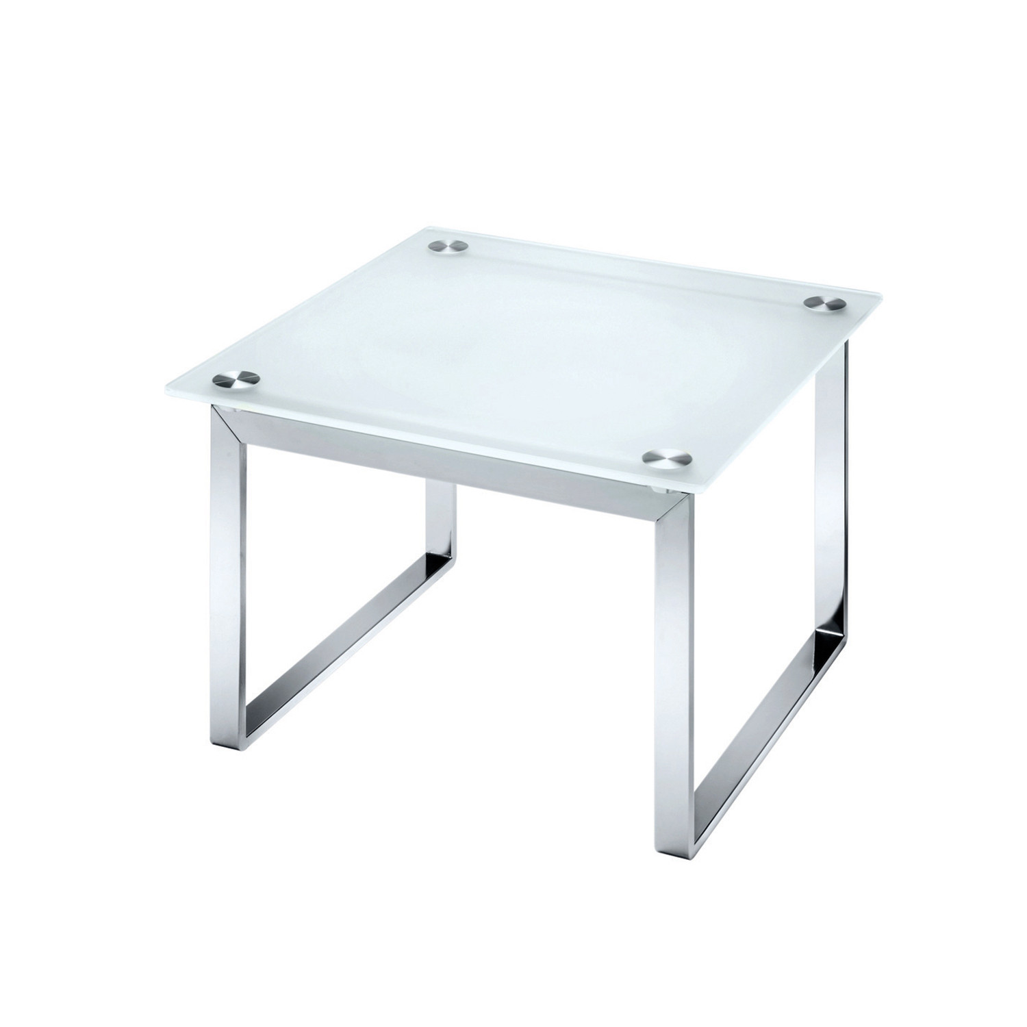 Equity Square Glass Coffee Table