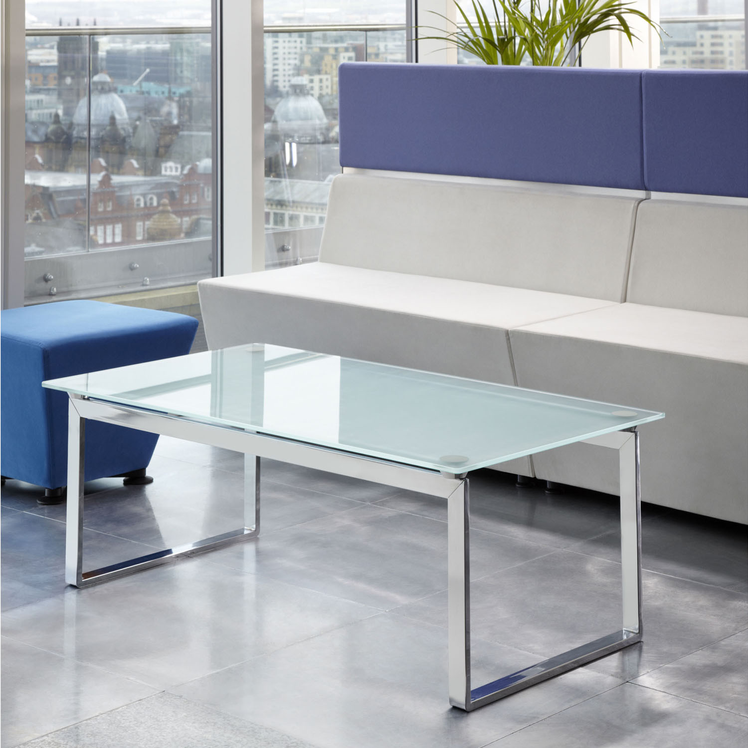 Equity Glass Table for Lounges