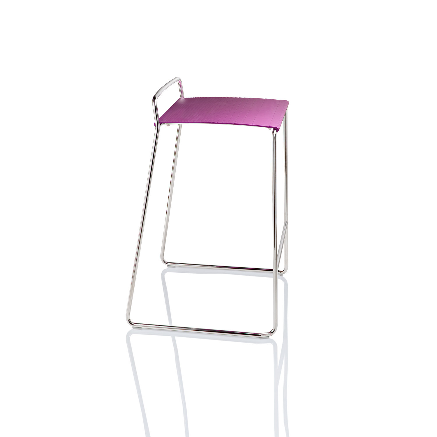 Estrosa Bar Stool in Aluminium