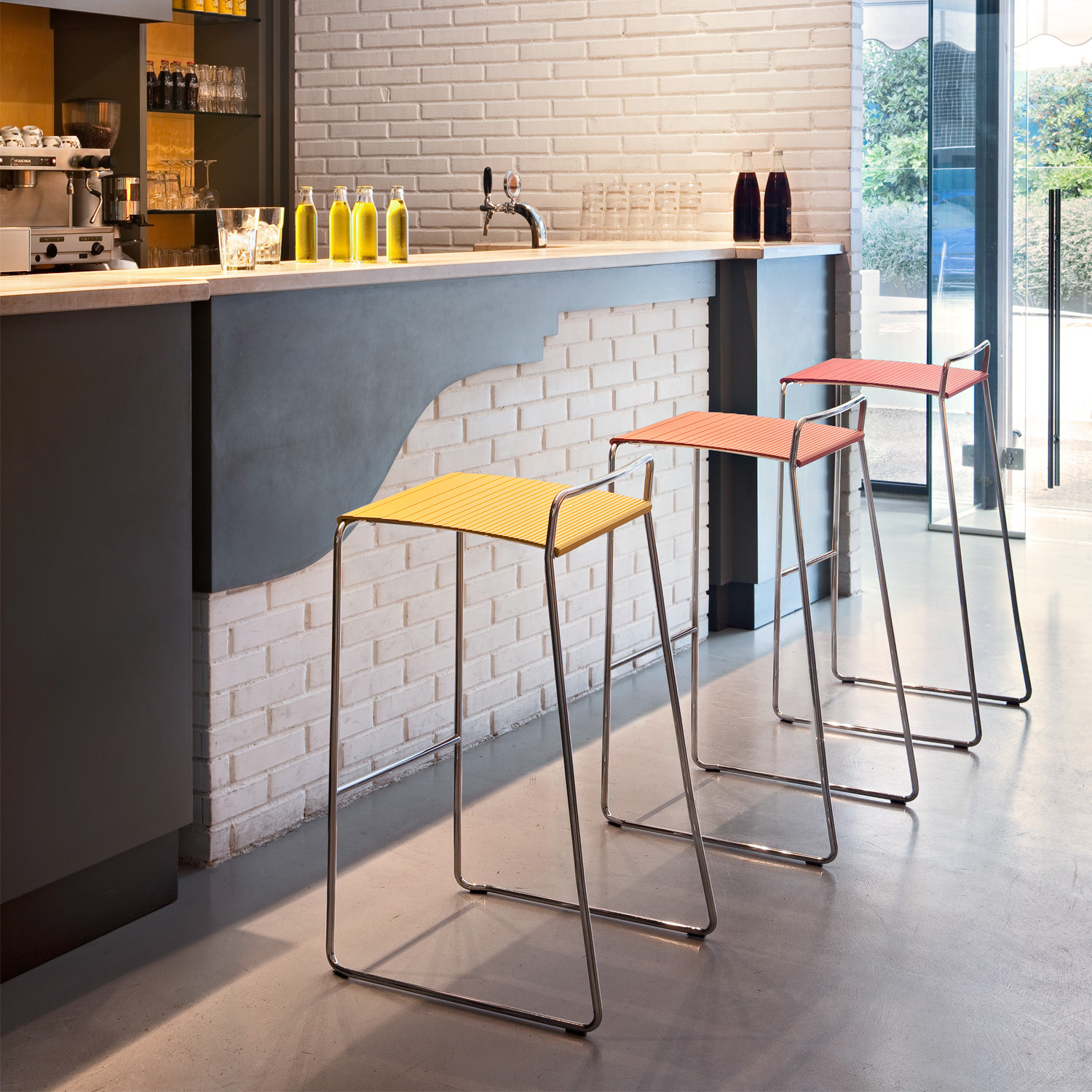 Estrosa Bar stools by Alma Design