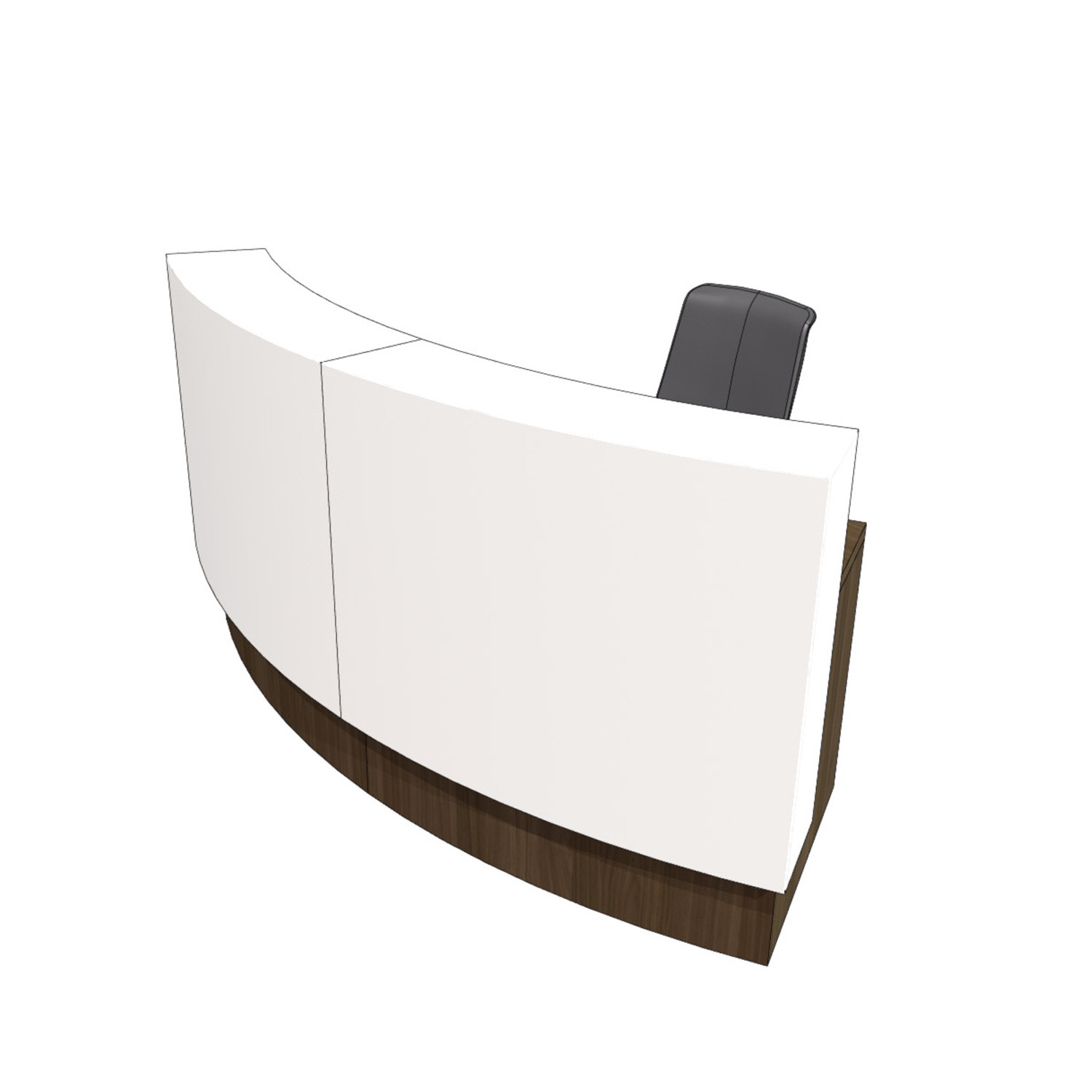 Evoke KB1 Reception Desk