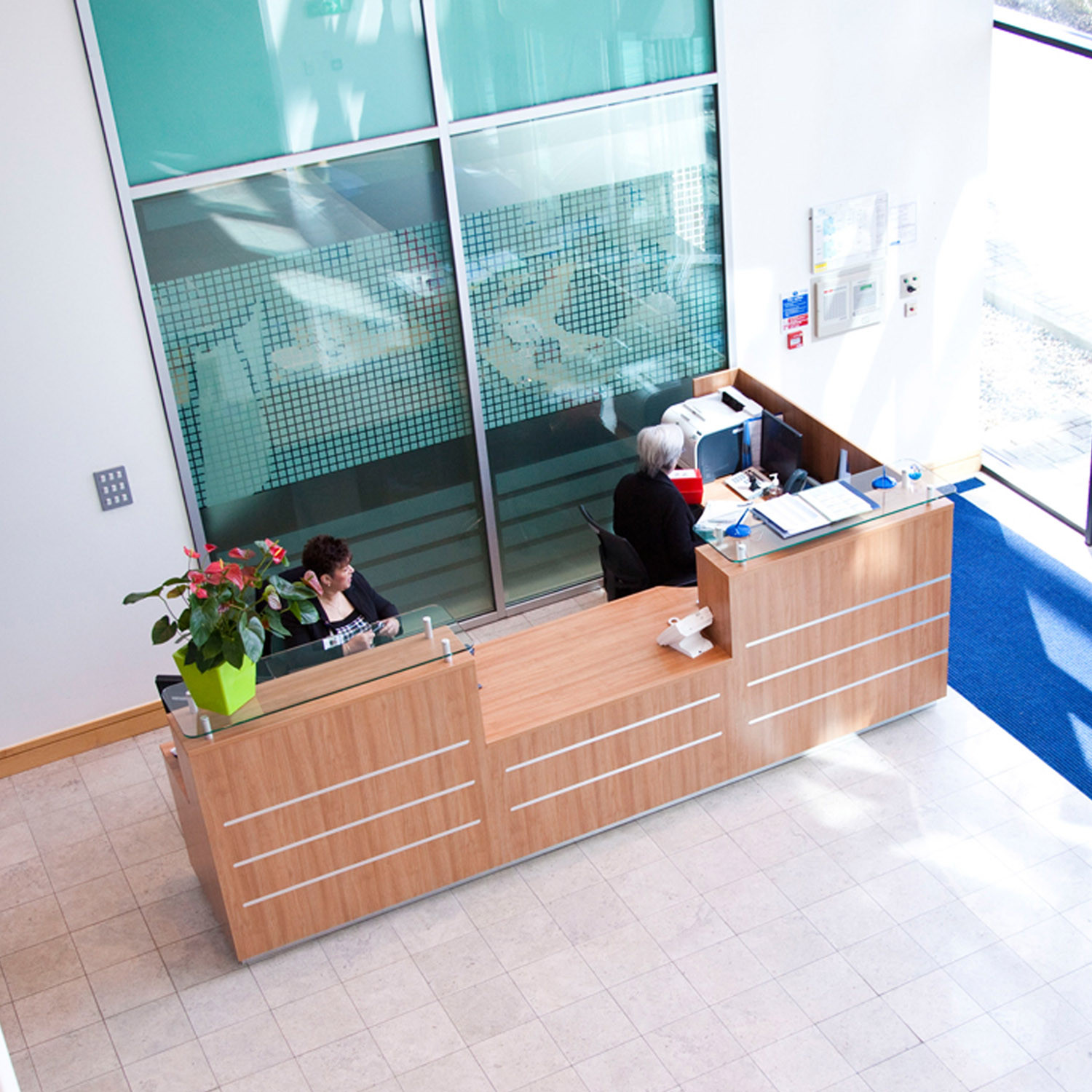 Clark Rendall Evolution Eclypse Receptionists Desk