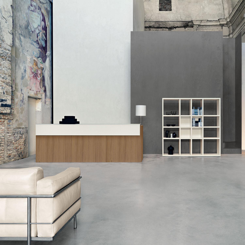 Sinetica Factory Reception Desks