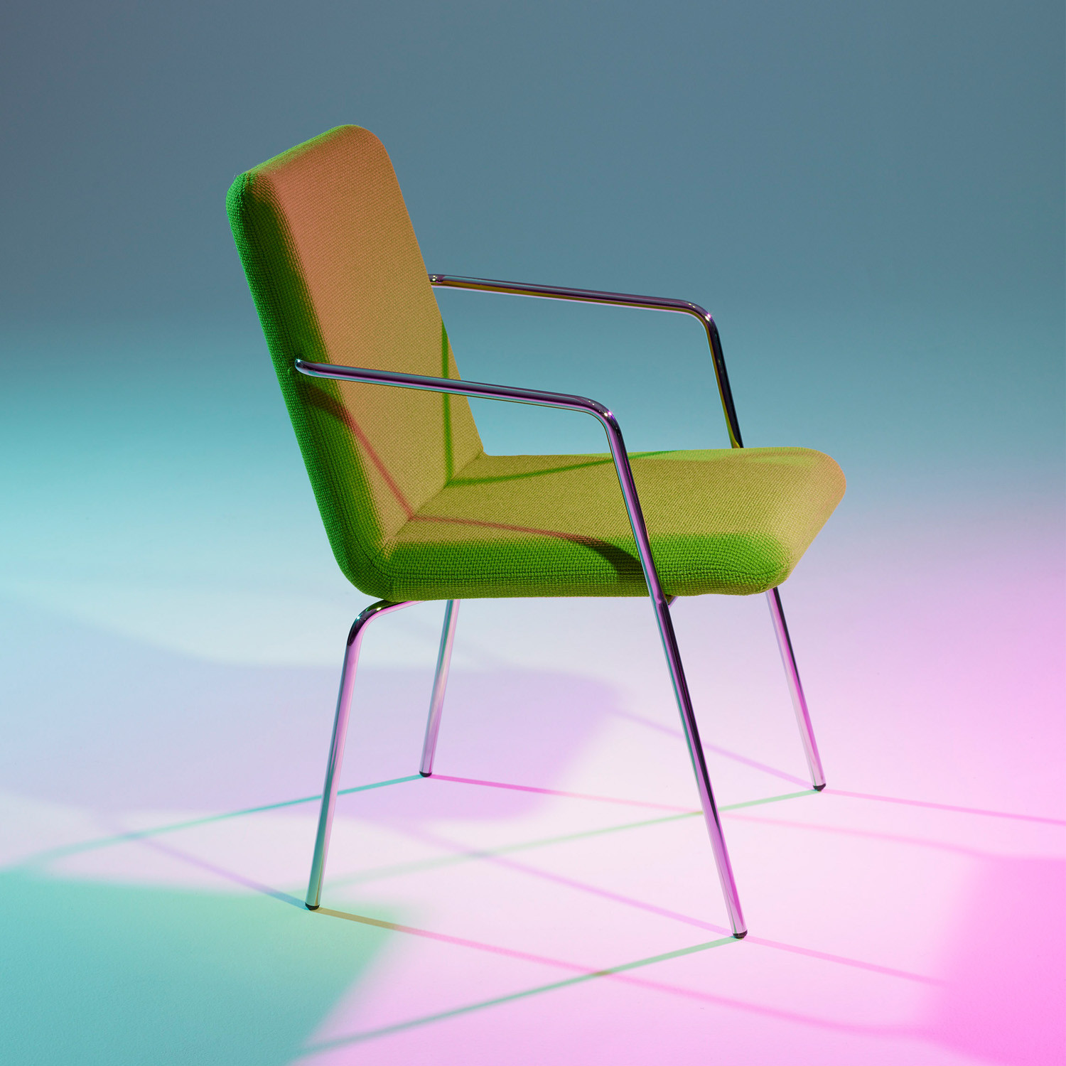 Fastback Chair and Armchair by Offecct