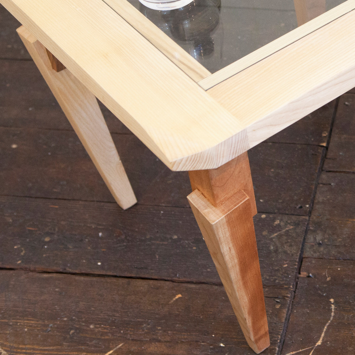 Feral Occasional Tables with Glass Surface